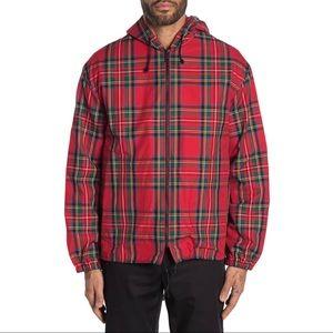 NWT Burberry Men's Bridstow Tartan Plaid Jacket